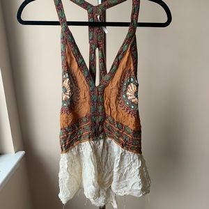 Free People Beautiful Backless Top